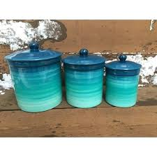 blue kitchen canister set blue kitchen canisters hicro club