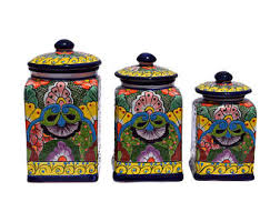 purple kitchen canisters pottery canister set etsy
