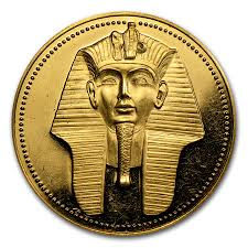 ah1406 1983 1989 egypt proof gold 100 pound gold coins from