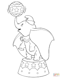 Dumbo Coloring Pages Free Coloring Pages Circus Coloring Page