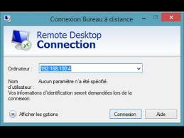 activer connexion bureau distance windows 7 bureau à distance windows 10