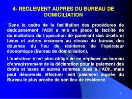 bureau douane présentation administration de la douane et impôt indirect