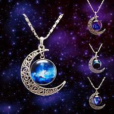 aliexpress moon necklace images Jewels cute blue purple necklace boho boho chic boho boho jpg