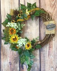 front door wreath fall wreath spring wreath summer wreath