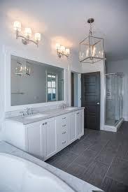 light gray tile bathroom floor gray and white bathroom ideas transitional bathroom benjamin