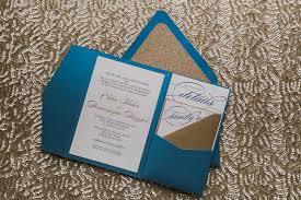 pocket folder invitations