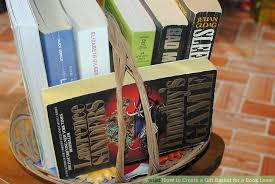 book gift baskets how to create a gift basket for a book lover 10 steps