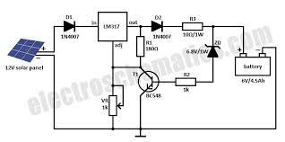wiring diagram 5v solar battery charger circuit diagram 10562