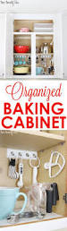 Kitchen Organization Hacks by Best 25 Baking Organization Ideas On Pinterest Baking Storage