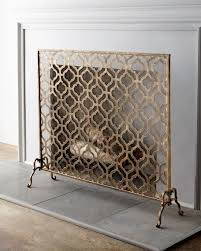 alluring brushed nickel fireplace screen fireplace ideas