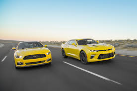 2016 chevrolet camaro ss vs 2016 ford mustang gt head 2 head