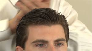 classic side part hairstyle u2013 how to cut hair with scissors u2013 part