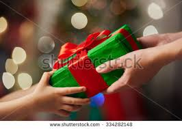 gift giving stock images royalty free images vectors