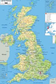 England On Map Download Map Of Uk Major Tourist Attractions Maps