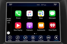 nissan leaf apple carplay fiat chrysler uconnect gains apple carplay android auto capability
