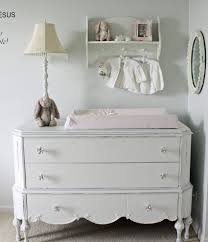 old dressers repurposed nursery shabby chic style with stuffed