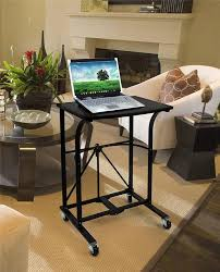 roll out computer desk origami 10 second laptop trolley folding roll away computer desk