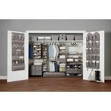 closet organizers miami improvements neatfreak 6 shelf hanging closet organizer 8393281