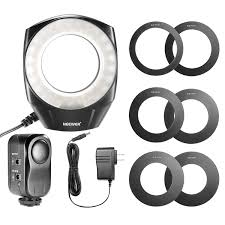 neewer led ring light neewer direct rakuten neewer 48 marco led ring light with 6