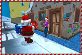 crazy santa moto gift delivery android apps on google play