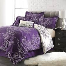 Plum Bed Set Light Plum Comforter Awesome Purple Bedding Set