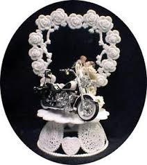 motorcycle wedding cake toppers wedding cake topper w diecast heritage softail harley davidson