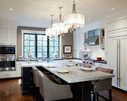 shaped kitchen islands t shaped island houzz