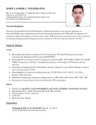 network engineer resume resume 2015 network engineer skills and abilities free network