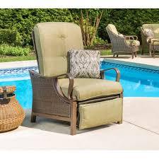 Patio Recliner Chair Bigler Patio Chair With Cushion Reviews Joss