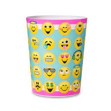 Yellow Wastebasket Emoji Bathroom Wastebasket Target