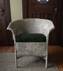 White Wicker Armchair Vintage White Wicker Armchair 1900 1950 Antique Porch Or