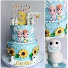 birthday cake frozen fever image inspiration cake