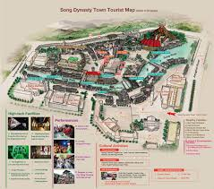 National Zoo Map China Hangzhou Maps Streets Tourist Attractions