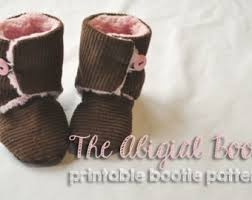 ugg sale infant baby bootie pattern etsy
