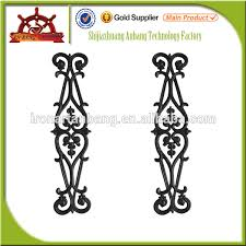 cheap new design ornaments cast iron decorative gate fence stair