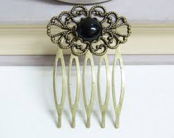 decorative hair combs black hair comb etsy