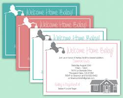 welcome home baby shower welcome home baby invitation baby shower viewing party