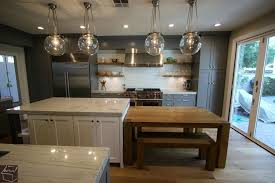Kitchen Cabinet Styles And Finishes by Cabinets U0026 Drawer Brick Wall Dark Laminate Wood Floors Industrial