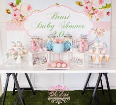Shabby Chic Shower by Kara U0027s Party Ideas Shabby Chic Bicycle Baby Shower