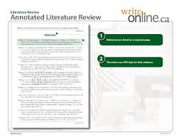 write online literature review writing guide resources