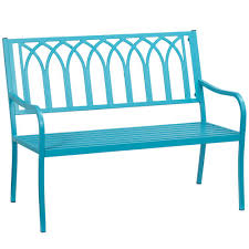 Turquoise Patio Chairs Silver Outdoor Benches Patio Chairs The Home Depot