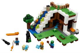 Lego Table Toys R Us Lego Minecraft The Waterfall Base 21134 Toys