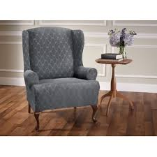 wingback chair slipcovers wing chair slipcovers you ll wayfair ca