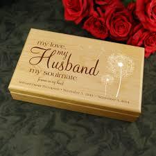 keepsake box husband keepsake box