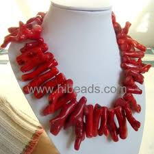 red big necklace images Big size pimiento shape red coral necklace coral jewelry 0066 06 jpg