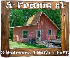 Modified A Frame House Mn Resort Cabin Rentals Thunder Lake Lodge Longville Mn Resort