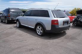 2001 audi allroad tip silver silver black interior
