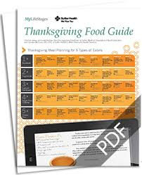 thanksgiving food guide thanksgiving meal planning for all types