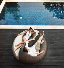 Cool Outdoor Furniture by Ideas Unconventional Of Lawn Furniture With Round Shape Double