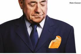 Alex Salmond Meme - tory caign poster of alex salmond and ed miliband sparks